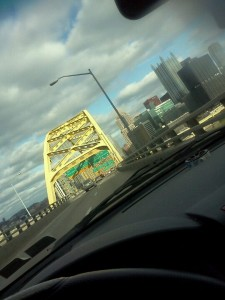My favorite part about going home to Pittsburgh, PA! Driving through the tunnels :)