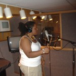 First Studio session in Frederick, MD. I was with my cousins. They also do music!