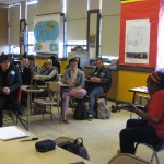 GSA Youth Empowerment Summit! My QueerCore workshop at a high school GLBTQ conference. http://www.gsanetwork.org/yes