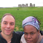 Me and my homie Jim at Stonehenge!