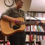 QueerCore cast member Hollywood Infinite shares original music for the UMBC crowd!