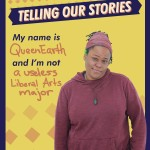 UMBC Women's Center: Telling Our Stories Poster